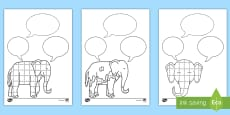 Role on the Wall Activity Sheet to Support Teaching on Elmer