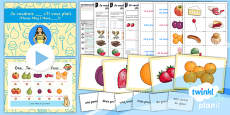 PlanIt - French Year 3 - Food Glorious Food Lesson 2: Please May I Have Lesson Pack