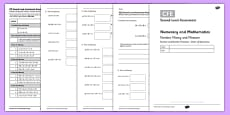 Second Level Assessment Numeracy and Mathematics Number Money and Measure Order of Operations