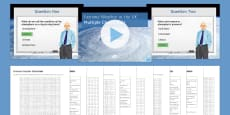 * NEW * The Challenge of Natural Hazards AQA Glossary Activity Pack