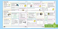 * NEW * Year 4 Spring Term 2 SPaG Activity Mats