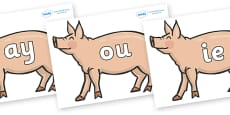 Phase 5 Phonemes on Pig to Support Teaching on Pig in the Pond