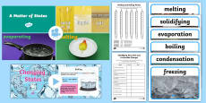 KS2 Changing States Video Activity Pack