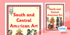 PlanIt - Art UKS2 - South and Central American Art Unit Book Cover