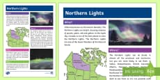 * NEW * Northern Lights Fact File