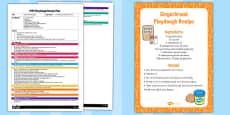 EYFS Gingerbread Playdough Plan and Recipe Pack