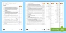 AQA Biology Unit 4.5 Homeostasis and Response Student Progress Sheet