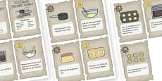 Pirate Themed Hardtack Recipe Cards