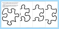 We All Fit Together Class Portrait Jigsaw Puzzle