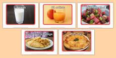 An Bhialann The Restaurant Role Play Display Photos Irish Gaeilge