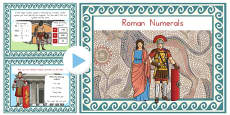 Roman Numerals Introduction PowerPoint