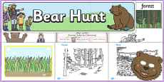 Childminder Bear Hunt Resource Pack