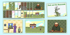 Jack and the Beanstalk Story Sequencing