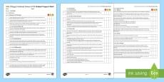 AQA Trilogy Unit 4.1 Cell Biology Student Progress Sheet