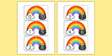 Rainbow and Pot of Gold Number Bonds to 10