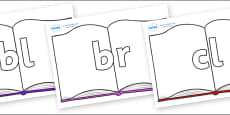 Initial Letter Blends on Books