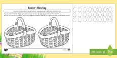 Easter Basket Sharing Activity