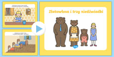 Goldilocks Story PowerPoint Polish