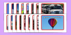 Transport Photo Pack Spanish