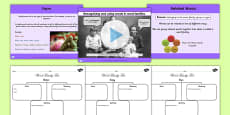 Recognising and Using Words in Word Families SPaG Lesson Teaching Pack