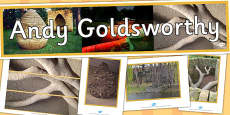 Andy Goldsworthy Display Pack