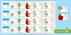 Editable Substitute Teacher Business Cards