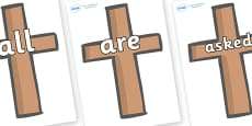 Tricky Words on Crosses