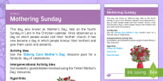 * NEW * Mother's Day Adult Guidance