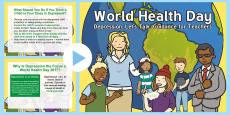 * NEW * World Health Day Guidance for Teachers PowerPoint