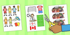 Women's Football World Cup 2015 Display Cut Outs