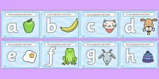 Alphabet Playdough Mats (lowercase)