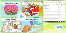 PlanIt Y3 Plants: Jack and the Beanstalk WriteIt Pack