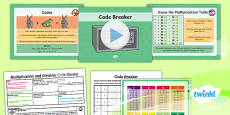 PlanIt Y4 Multiplication and Division SolveIt Lesson Pack