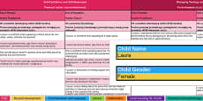 Report Writing Bank of Differentiated Statements EYFS Polish Translation
