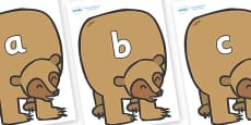 Phase 2 Phonemes on Brown Bear to Support Teaching on Brown Bear, Brown Bear