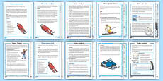 KS1 Winter Themed Differentiated Reading Comprehension Resource Pack