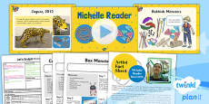 PlanIt - Art KS1 - Let's Sculpt Lesson 2: Michelle Reader Lesson Pack