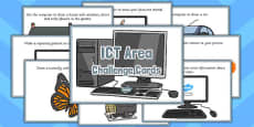 ICT Area Challenge Cards