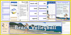 Rio 2016 Olympics Beach Volleyball Resource Pack