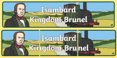 Isambard Kingdom Brunel Display Banner
