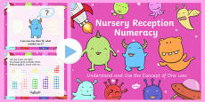 Nursery Reception Numeracy Understand and Use the Concept of One Less