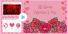 All About Valentine's Day PowerPoint