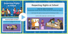 Respecting Rights at School PowerPoint
