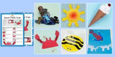 Summer Holiday Craft Activity Pack