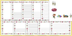 Criminal Granny Page Borders Pack