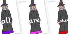 Tricky Words on Witches