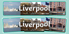 Liverpool Photo Display Banner