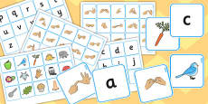 British Sign Language Alphabet Matching Pack