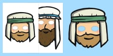 The Wise Man And The Foolish Man Story Role Play Masks