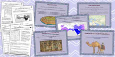 The Early Islamic Civilisation Lesson Teaching Pack